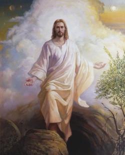 Jezus verrijst uit de doden